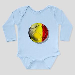 Belgian Football Long Sleeve Infant Bodysuit