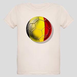 Belgian Football Organic Kids T-Shirt
