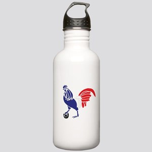 France Le Coq Flag Stainless Water Bottle 1.0L