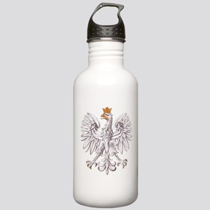 Polish White Eagle Stainless Water Bottle 1.0L