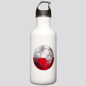 Poland Football Stainless Water Bottle 1.0L