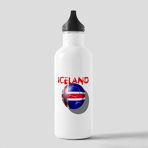 Icelandic Soccer Stainless Water Bottle 1.0L