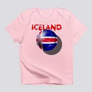 Icelandic Soccer Infant T-Shirt