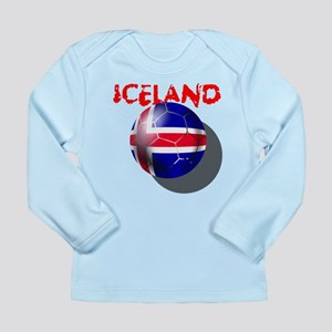 Icelandic Soccer Long Sleeve Infant T-Shirt