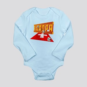 Europa Switzerland Long Sleeve Infant Bodysuit