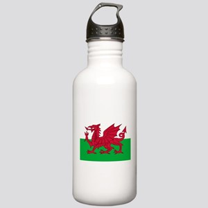 Welsh flag of Wales Stainless Water Bottle 1.0L