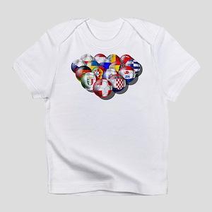 European Soccer Football Infant T-Shirt