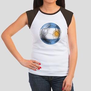 Argentina Football Women's Cap Sleeve T-Shirt