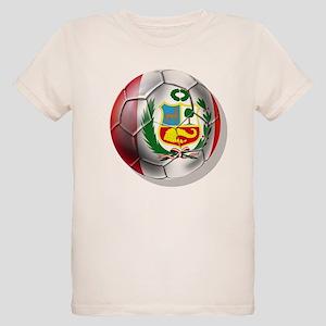 Peru Futbol Organic Kids T-Shirt