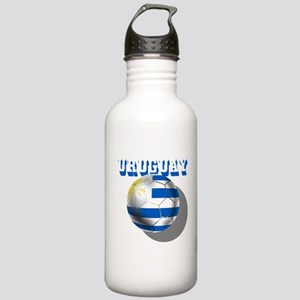 Uruguay Soccer Ball Stainless Water Bottle 1.0L