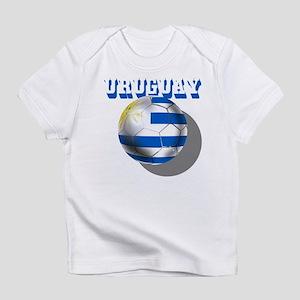 Uruguay Soccer Ball Infant T-Shirt