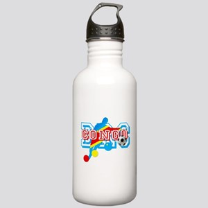 Leopards football players Stainless Water Bottle 1