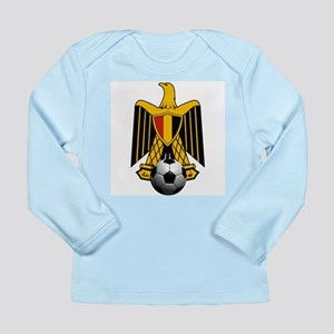 Egyptian Football Eagle Long Sleeve Infant T-Shirt