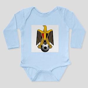 Egyptian Football Eagl Long Sleeve Infant Bodysuit