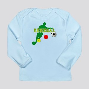 Senegal Soccer Long Sleeve Infant T-Shirt