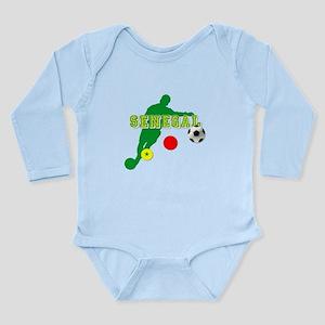 Senegal Soccer Long Sleeve Infant Bodysuit