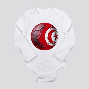 Tunisian Football Long Sleeve Infant Bodysuit