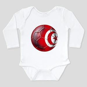 Tunisian Football Long Sleeve Infant Bodysuit