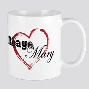 Abstract Heart Mug - Rhage And Mary Mugs