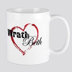Abstract Heart Mug - Wrath And Beth Mugs