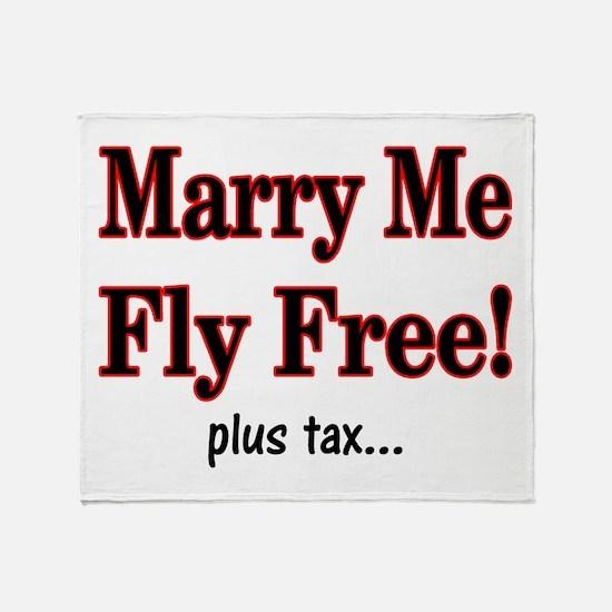 plus tax Throw Blanket