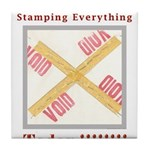 Stamped Void Tile Coaster