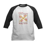 Stamped Void Kids Baseball Jersey