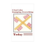 Stamped Void Sticker (Rectangle 50 pk)