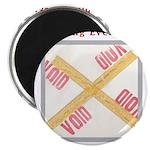 Stamped Void Magnet