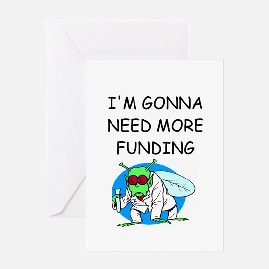 Medical research joke Greeting Card
