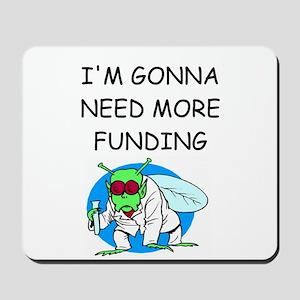 Medical research joke Mousepad