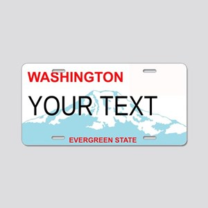 Washington State Customizable Plae