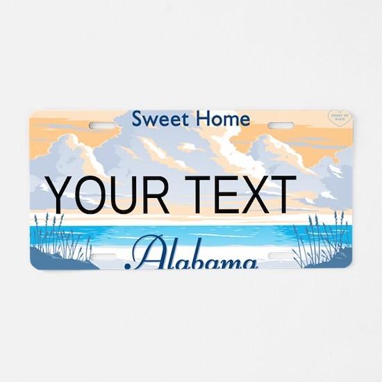 Alabama Customizable Plate