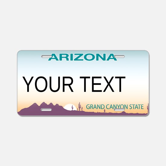 Arizona Customizable Plate