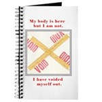 My Body Is Here Journal