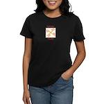 My Body Is Here Women's Dark T-Shirt
