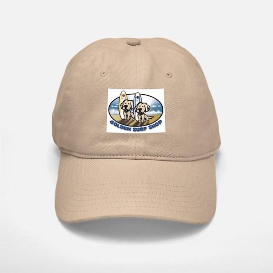 Golden Surf Shop Baseball Baseball Cap