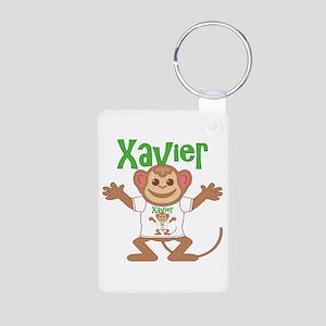 Little Monkey Xavier Aluminum Photo Keychain