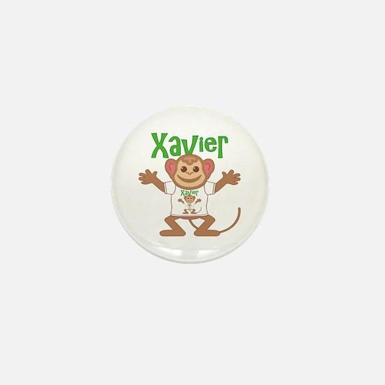 Little Monkey Xavier Mini Button