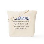 Swearing Tote Bag