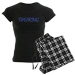 Swearing Women's Dark Pajamas