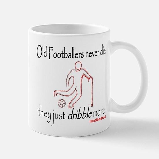 Old Footballers Mug
