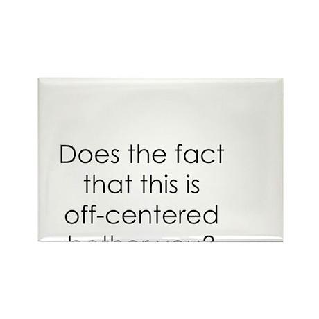 Off Center Rectangle Magnet (100 pack)