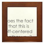 Off Center Framed Tile
