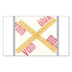 Void Sticker (Rectangle 10 pk)