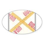 Void Sticker (Oval 50 pk)