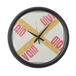 Void Large Wall Clock