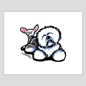 OES n' Ewe Cute Small Poster