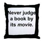 Judge Book Throw Pillow