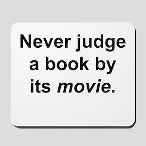 Judge Book Mousepad